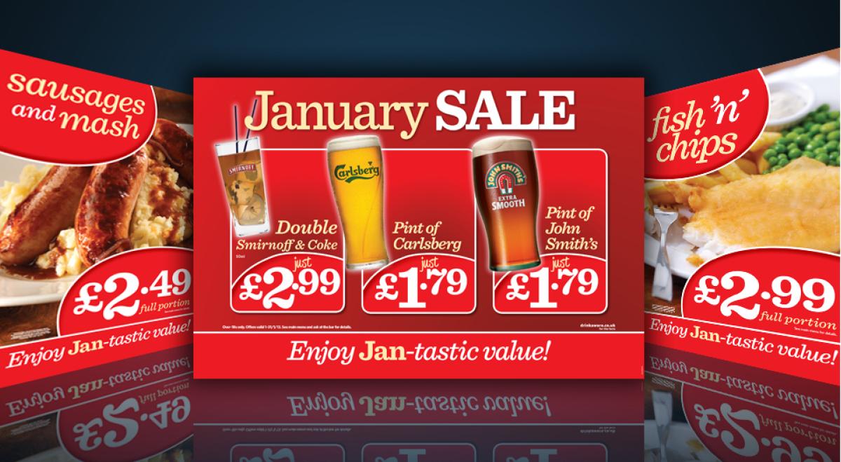 1 january sale